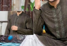 Junaid Jamshed Eid Kurta Shalwar Trendy Collection 2017 6
